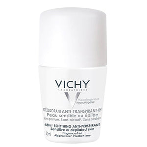 Vichy DEODORANT ROLL ON 48HR SENSITIVE 50ML
