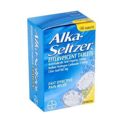 Alka Seltzer Tablets Lemon - 20