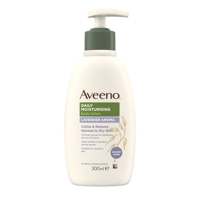 AVEENO DAILY MOIST LOTION LAVANDER 300ML