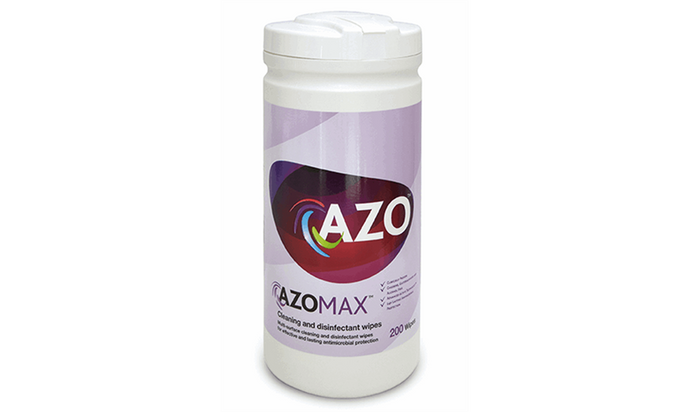 AZOMAX DISINFECTANT WIPES 200 PACK