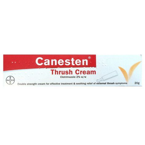 Canesten Thrush Cream 2% Clotrimazole