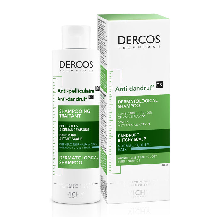 Vichy DERCOS ANTIDANDRUFF SHAMPOO FOR OILY HAIR 200ML