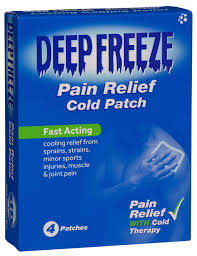 Deep Freeze Pain Relief Patches 4