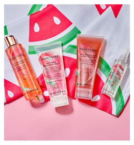 SANCTUARY WATERMELON GLOW GIFT SET