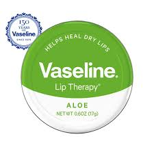 VASELINE TIN LIP THERAPY ALOE VERA GREEN 20G