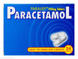 Paralief Paracetamol 500mg 24tablets