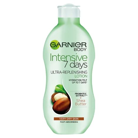 GARNIER BODY INTENSIVE 7 DAYS DRY TO EXTRA DRY SKIN SHEA BUTTER 250ML