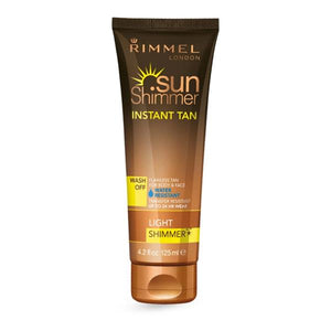 RIMMEL SUNSHIMMER LIGHT TAN SHIMMER 125ml