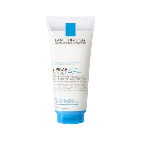 La Roche Posay Lipikar Syndet AP+ Cream Wash Save 25% 200ml