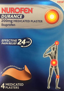 Nurofen Durance 200mg Medicated Plaster 4s