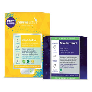 Revive Active Zest 30 Day Pack with Free Mastermind 7 Day Pack