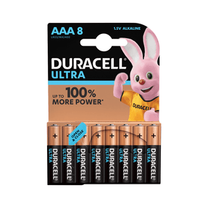 DURACELL ULTRA BATTERIES AAA 8 PACK