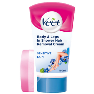 VEET SHOWER CREAM SENSITIVE 150ML