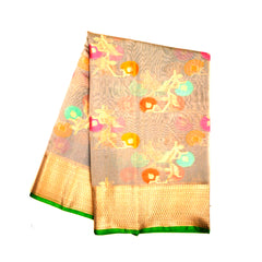 GREY COTTON SAREES