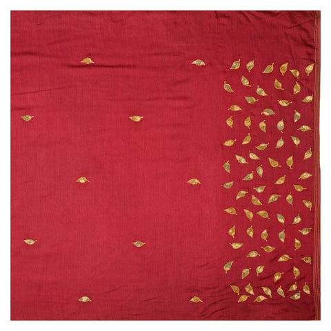 MAROON TUSSAR SUITS