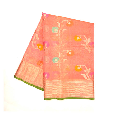 PINK COTTON SAREES