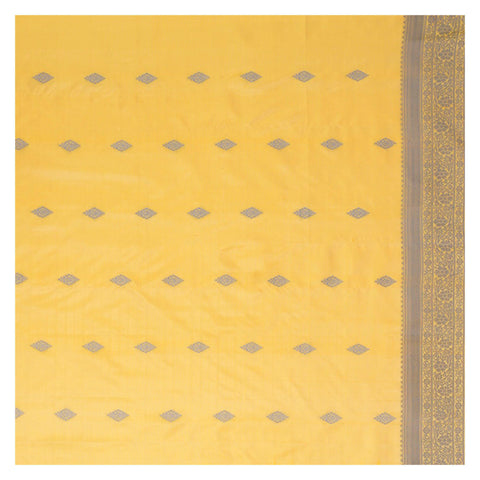 YELLOW SOFT SILK SILK SAREES