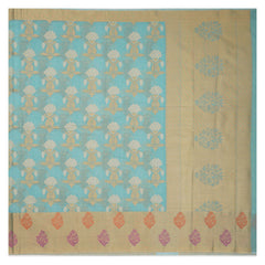 BLUE COTTON SAREES,