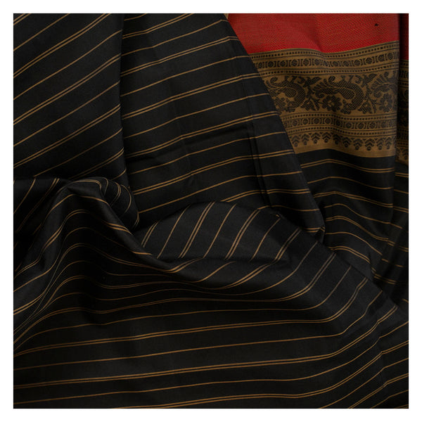 BLACK SOFT SILK SILK SAREES
