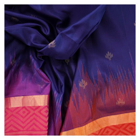 BLUE SOFT SILK SILK SAREES,