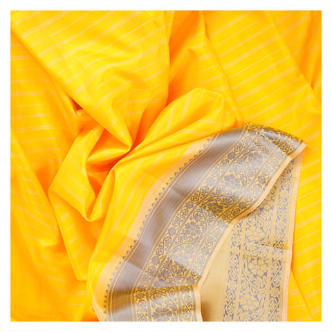 YELLOW SOFT SILK SILK SAREES,