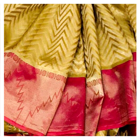 GOLD SILK UPPADDA SAREE