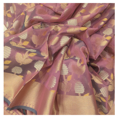 PINK COTTON / BANARSI SAREE