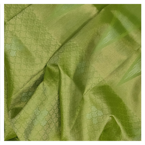GREEN SILK UPPADDA SAREE