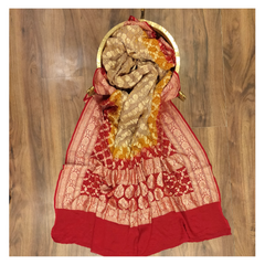 MULTICOLOURED GEORGETTE DUPATTA / STOLES