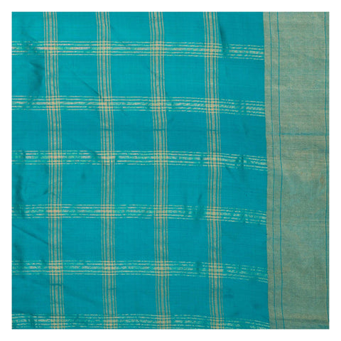 BLUE IKKAT SILK SAREE