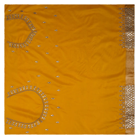 YELLOW DESIGNER SILK SAREES