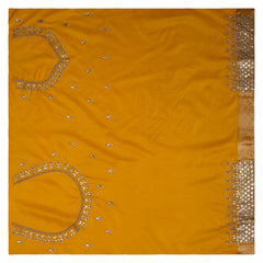 YELLOW DESIGNER SILK SAREES,