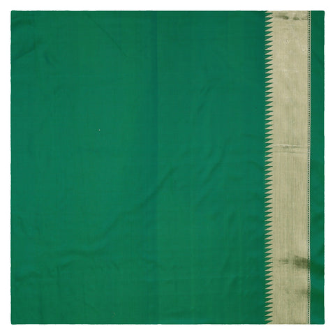 GREEN BANARSI SILK SAREE