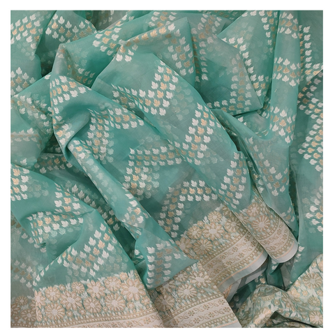 BLUE COTTON/HANDLOOM/BANARASI SAREE