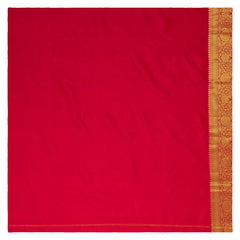 RED KANJEEVARAM SILK SAREE,