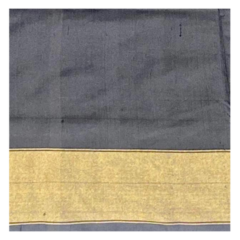 BLACK SILK IKKAT SAREE