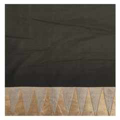 BLACK SILK BANARSI SAREE
