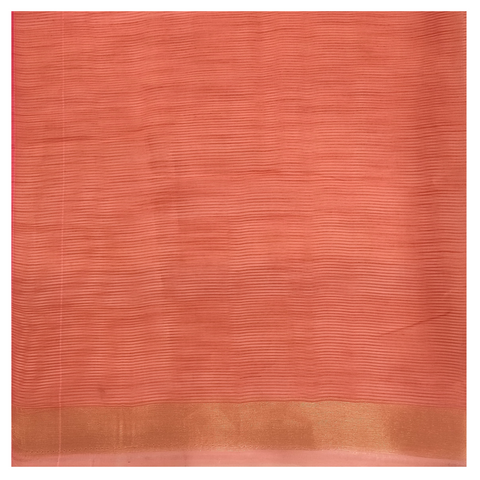 PINK KORA SILK HANDLOOM / SOFT SILK SAREE