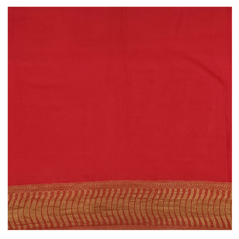 MULTICOLOURED GEORGETTE BANARSI SAREE