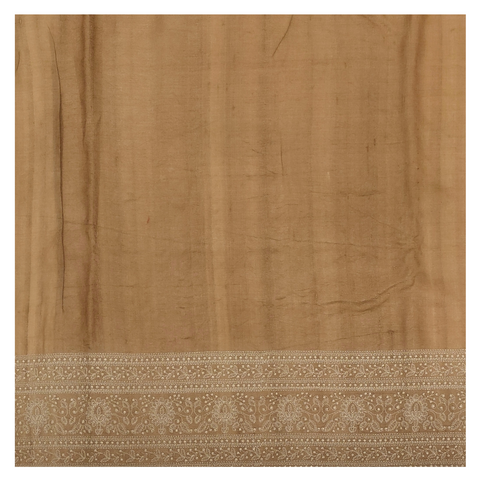 BROWN ORGANZA DESIGNER SAREE