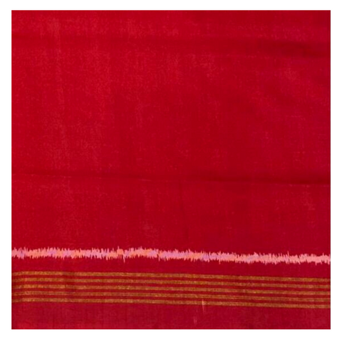 RED SILK PATOLA / IKKAT SAREE