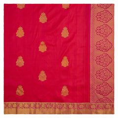 ORANGE KANJEEVARAM SILK SAREE