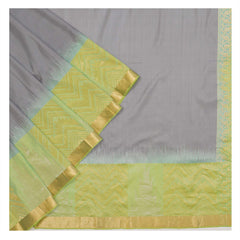 GREY SOFT SILK SILK SAREES,
