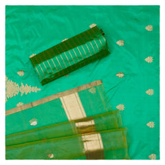 GREEN SILK SUITS,