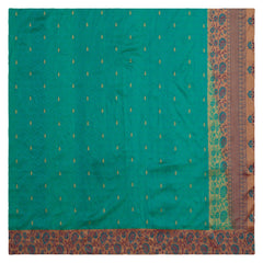 GREEN KANJEEVARAM SILK SAREE,