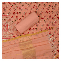 PEACH COTTON SUITS,