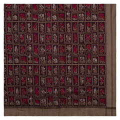 WINE BANARSI SILK SAREE