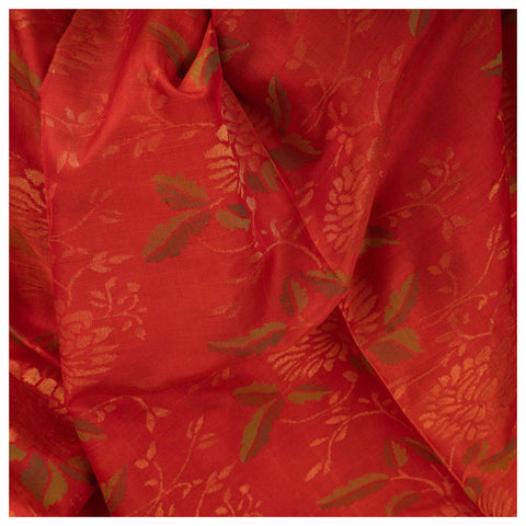 ORANGE UPPADA SILK SAREE