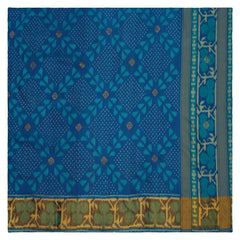 BLUE PATOLA SILK SAREE,