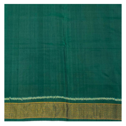 GREEN PATOLA SILK SAREE